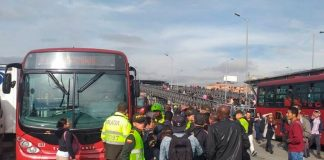Cierran CUATRO ESTACIONES de la troncal Décima, por manifestaciones
