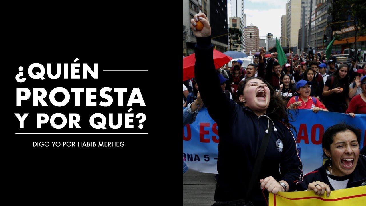 ¿Quién PROTESTA y POR QUÉ? Radiografía de las marchas en Colombia