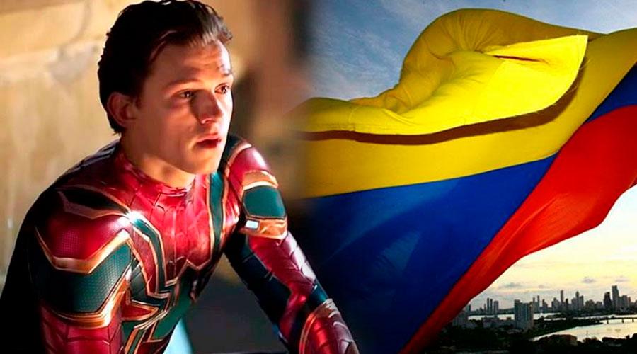 Tom Holland, protagonista de Spider-Man de vacaciones en Colombia