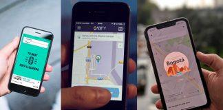 Después de Uber, inicia la 'cacería' contra Beat, Didi y Cabify en Colombia.