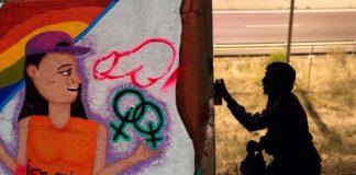 Vandalizan MURALES de colectivos FEMINISTAS en Cali