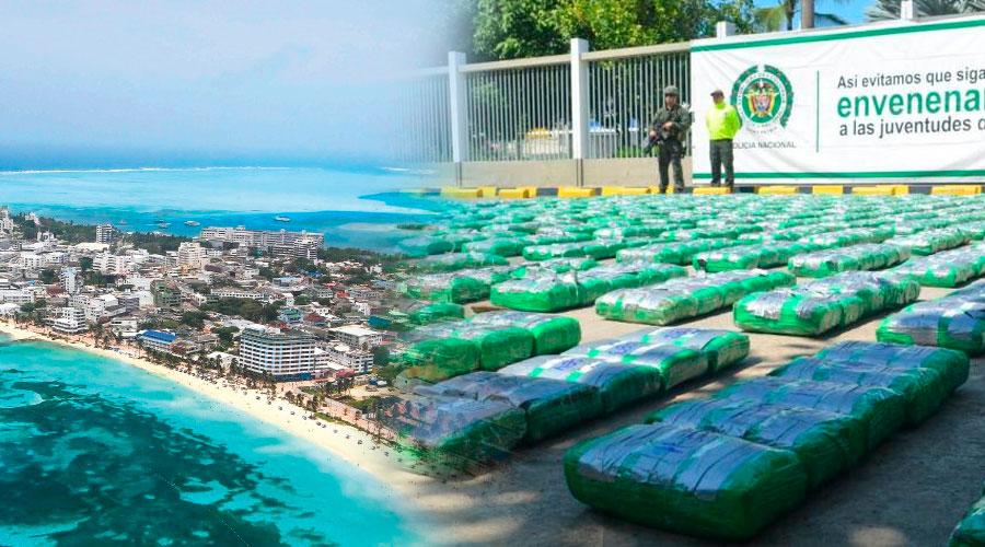 1.200 kilos de COCA incautados en aeropuerto de San Andrés