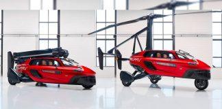 Presentan el primer auto volador comercial del mundo