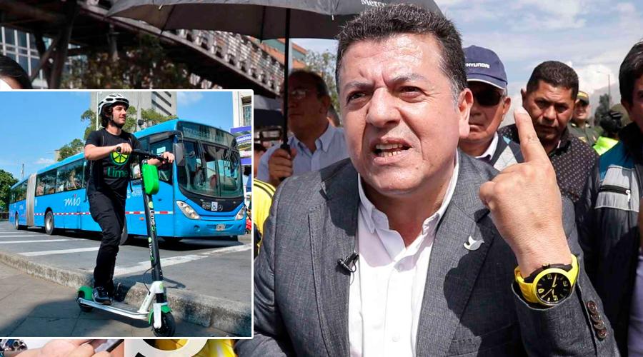 Se le SUBIÓ el PODER a la cabeza a Hugo Ospina, Líder de taxistas