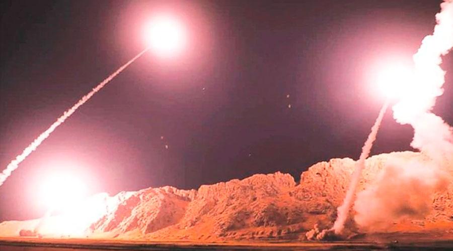Irán ataca dos bases aéreas de Irak que albergan fuerzas de EE.UU.