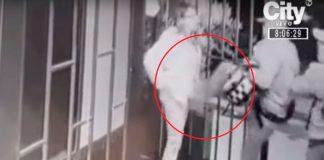 [Video] Ladrones patearon a una mujer en partes íntimas durante atraco, en Bogotá