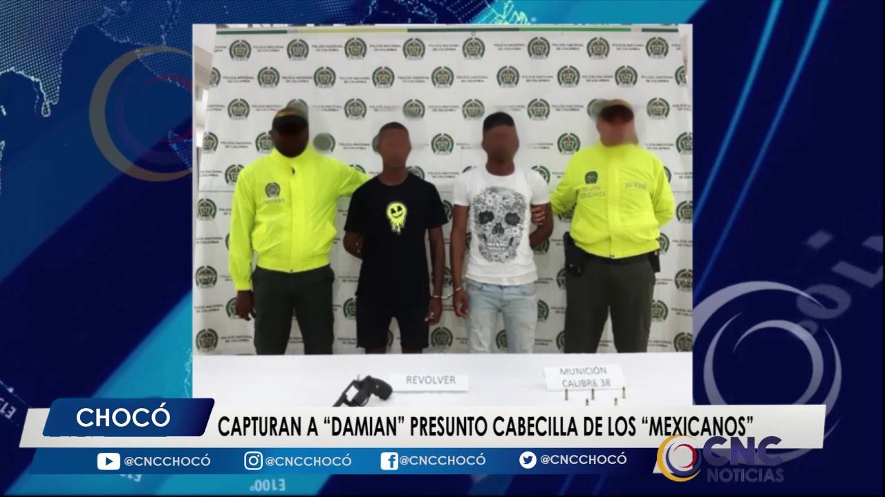 Capturan a Damian presunto cabesilla de los Mexicanos
