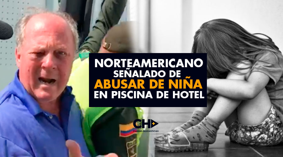 Norteamericano señalado de ABUSAR de niña en piscina de hotel