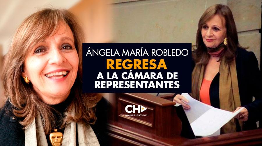 Ángela María Robledo REGRESA a la Cámara de Representantes