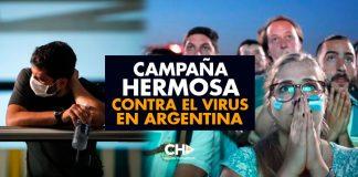 Argentina SORPRENDE al mundo con una campaña HERMOSA contra el virus
