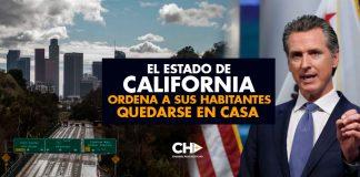 El Estado de California ordena a sus habitantes quedarse en casa