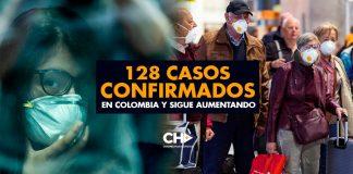 128 casos CONFIRMADOS en Colombia y sigue aumentando