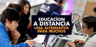 Educación a DISTANCIA una alternativa para muchos