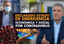 Declarado Estado de Emergencia Económica y Social por Coronavirus