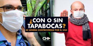 ¿Con o Sin TAPABOCAS? Se genera controversia por el uso