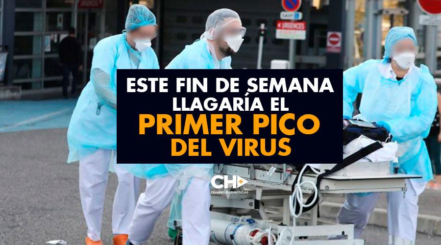 Este Fin de Semana llagaría el PRIMER PICO del Virus