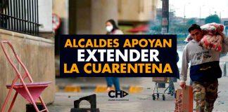 Alcaldes en las capitales apoyan EXTENDER cuarentena