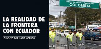 La REALIDAD de la Frontera con ECUADOR
