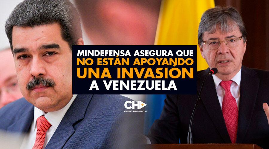 MinDefensa asegura que NO ESTÁN apoyando una INVASIÓN a Venezuela