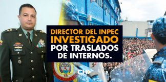 Director del INPEC investigado por traslados de internos.