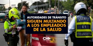 Autoridades de Tránsito siguen MULTANDO a los empleados de la SALUD