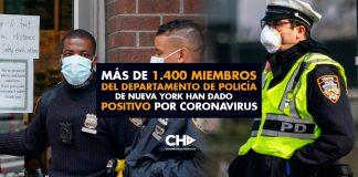 ALARMANTE: Más de 1.400 miembros del departamento de Policía de Nueva York han dado positivo por coronavirus