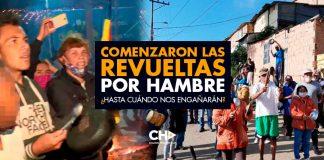 Comenzaron las REVUELTAS por HAMBRE en Colombia ¿Hasta cuándo nos engañarán?