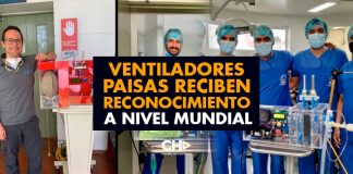 Ventiladores PAISAS reciben reconocimiento a nivel mundial