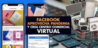 Facebook aprovecha pandemia y crea CENTRO COMERCIAL VIRTUAL