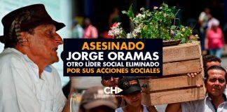 ASESINADO Jorge Oramas OTRO líder social ELIMINADO por sus acciones sociales