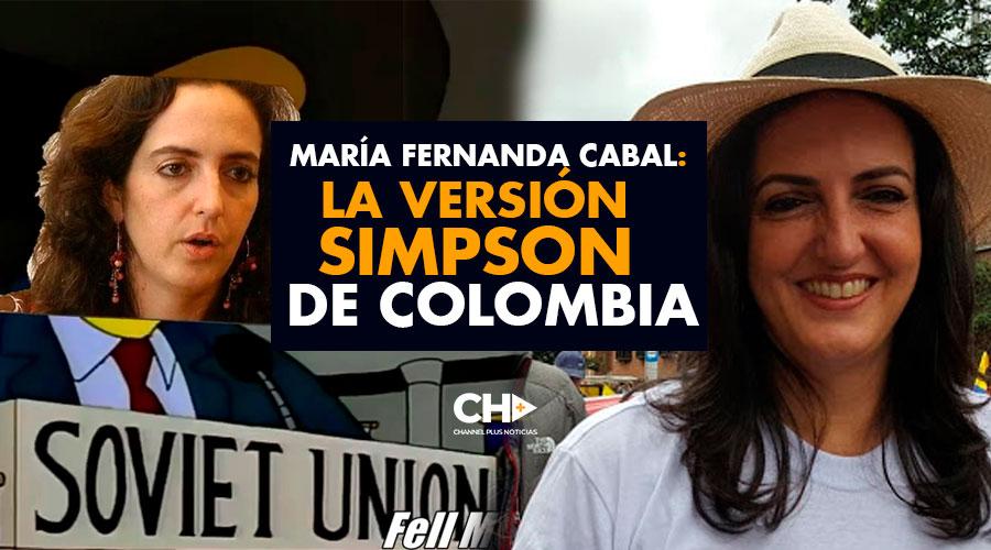 María Fernanda Cabal: La Versión Simpson de Colombia