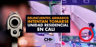 """Cali: """"Delincuentes armados intentan TOMARSE una unidad residencial"""""""