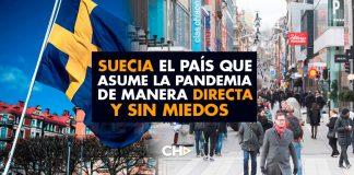 Suecia: El país que ASUME la Pandemia de manera DIRECTA y sin MIEDOS