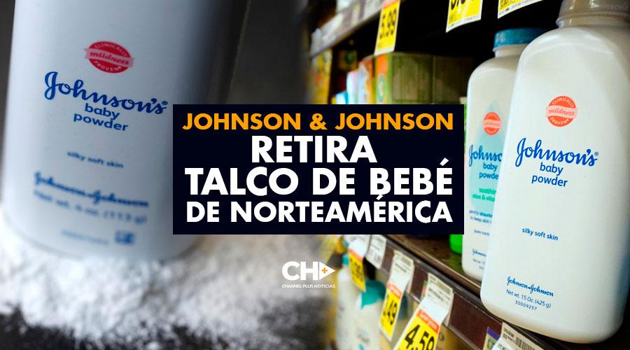 Johnson & Johnson RETIRA talco de bebé de Norteamérica