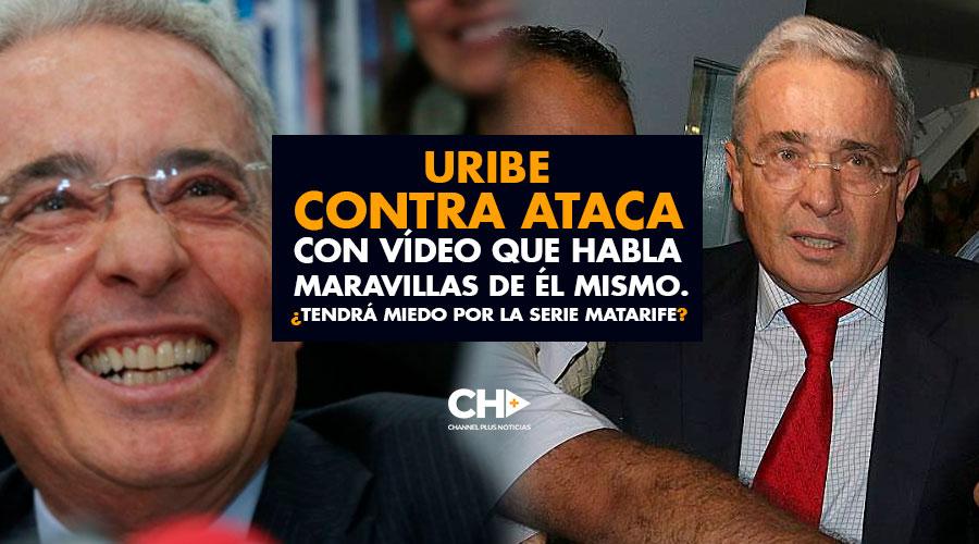Uribe CONTRA ATACA con vídeo que habla MARAVILLAS de él mismo. ¿Tendrá miedo por la serie Matarife?