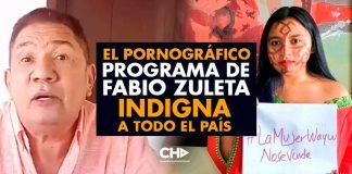 El PORNOGRÁFICO programa de Fabio Zuleta INDIGNA a todo el país