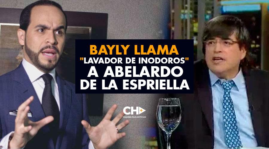 """Bayly llama """"lavador de inodoros"""" a Abelardo De la Espriella"""