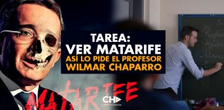 Tarea: Ver Matarife. Así lo pide el Profesor Wilmar Chaparro