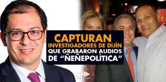 "Capturan investigadores de Dijín que grabaron audios de ""Ñeñepolítica"""
