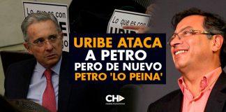 Uribe ATACA a Petro pero de nuevo Petro 'Lo Peina'