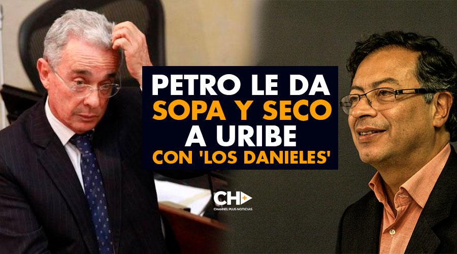 Petro le da SOPA y SECO a Uribe con 'Los Danieles'