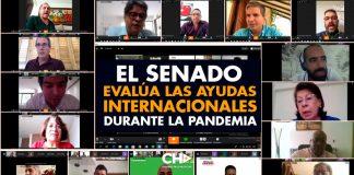 El SENADO evalúa las AYUDAS internacionales durante la Pandemia