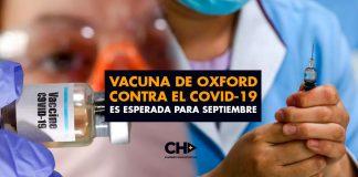 Vacuna de Oxford contra el Covid-19 es esperada para septiembre