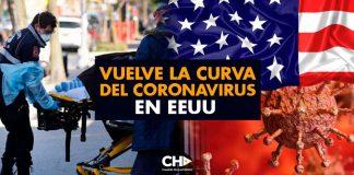 VUELVE la curva del CORONAVIRUS en EEUU