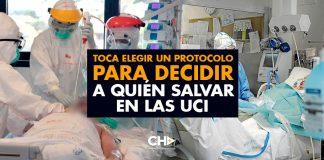 Toca ELEGIR un protocolo para DECIDIR a quién salvar en las UCI