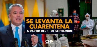 Se levanta la Cuarentena a partir del 1° de Septiembre