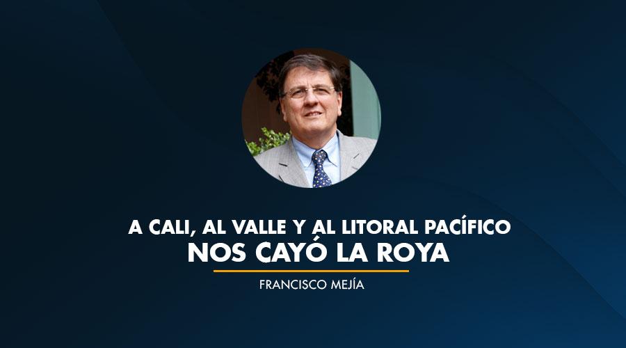 A Cali, al Valle y al Litoral Pacífico nos cayó la Roya