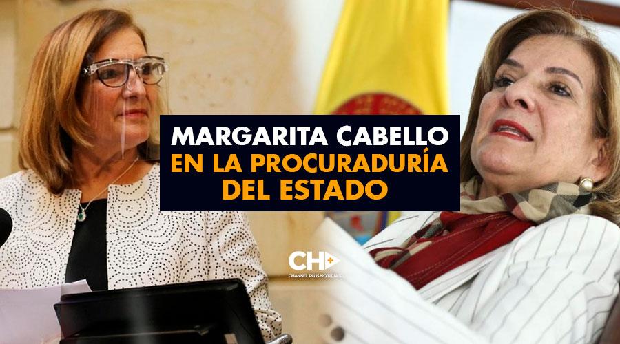 Margarita Cabello en la Procuraduría del Estado