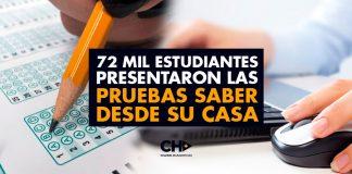 72 mil estudiantes presentaron las pruebas Saber desde su casa