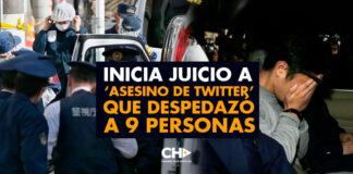 Inicia juicio a 'asesino de Twitter' que despedazó a 9 personas